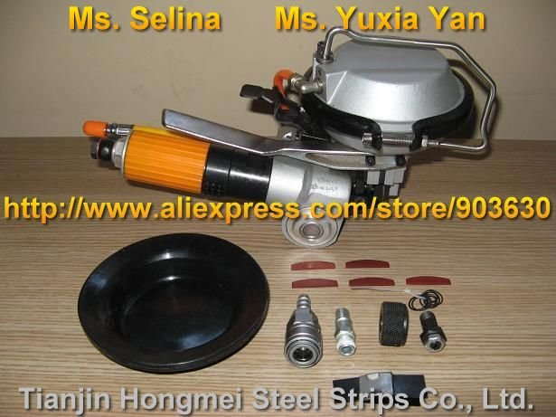 A480 / KZ-19 Combinazione pneumatica Reggiatrice in acciaio, - Utensili elettrici - Fotografia 2