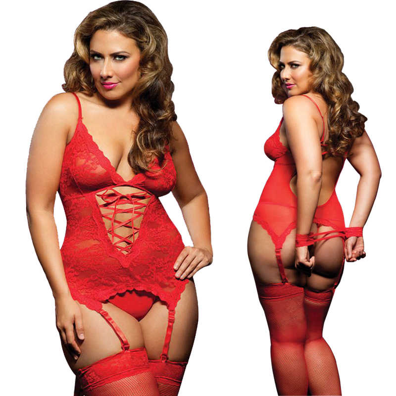 88b7dd2cb Detail Feedback Questions about S M XL 3XL 4XL 5XL 6 XL Plus Size Lingerie  Women Lingerie Sexy Hot Erotic Baby doll Sexy Lingeries Garter Belts on ...