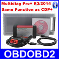 Latest Software R3/2014 Multidiag Pro+ With 4GB TF Card+Bluetooth+Plastic Box Works Cars/Truck Generic Same as CDP+ TCS