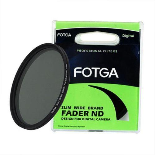 FOTGA Fader Variable Réglable Mince Densité Neutre ND filtre ND2 à ND400 43/46/52/55/58/62/67/72/77/82/86mm