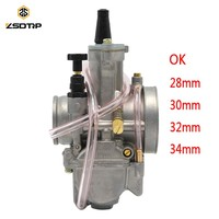 ZSDTRP 28 30 32 34mm Carburetor Replacement OKO PWK Applied Power Jet Racing Scooter Dirt Bike Pit ATV