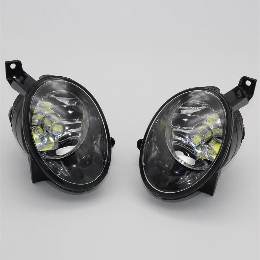 Car LED Light For VW Golf 6 Golf MK6 2009 2010 2011 2012 2013 2014 Car-styling Front LED Fog Light Fog Lamp With LED Bulbs boaosi 1x 9006 hb4 car fog lamp driving light bulbs no error for vw golf 6 mk6 2009 2012 t5 transporter 2003 2016 scirocco 08 on