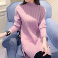 Maternity Nursing Clothes For Pregnant Women Feeding Clothing long-sleeve Turtleneck white fashion leisure knitted sweater