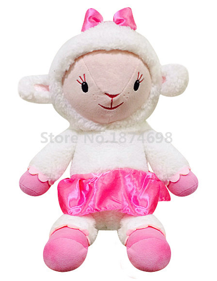 New Doc Mcstuffins Toys Lambie Lamb Plush Doll Toy Large 45cm Cute