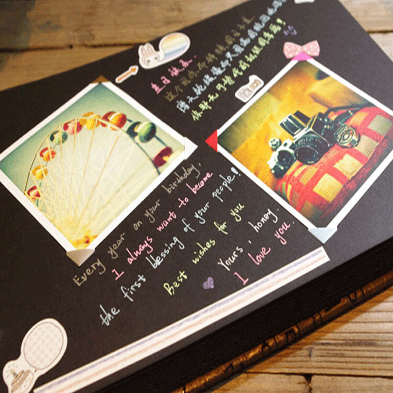 Bien-aimé Online Shop 1pcs Weeding Photo Album Scrapbook Album DIY Handmade  BY53