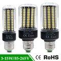 1 Pcs 5736 SMD Mais Brilhante SMD 5736 LED Milho lâmpada Lâmpada luz Real poder 3.5 W 5 W 7 W 8 W 12 W 15 W E27 E14 85 V-265 V sem Flicker Lâmpada