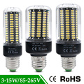 1Pcs 5736 SMD More Bright SMD 5736 LED Corn lamp Bulb light Real power 3.5W 5W 7W 8W 12W 15W E27 E14 85V-265V No Flicker Bulb