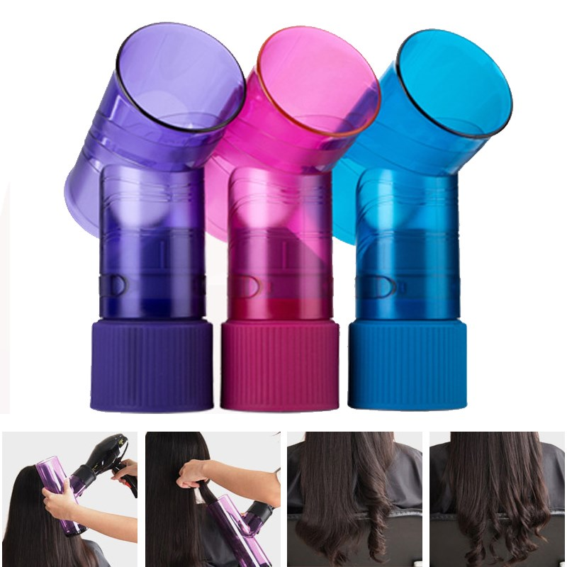 Difusor de pelo Salon magia rodillo de pelo secado secador viento Curl cubierta secador de pelo rodillo rizador difusor Hair Styling herramientas
