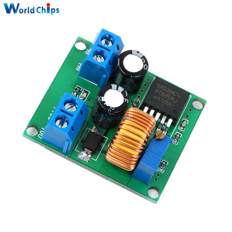 DC-DC Boost Step up Module 12V 19V 24V 32V 5A Adjustable Voltage Regulator Power