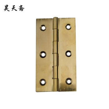 [Haotian vegetarian] copper hinge hinge antique Ming and Qing Chinese decoration doors thick copper live HTF-057