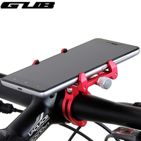 Gub de metal ajustável universal bicicleta telefone mount suporte para 3.5-6.2 polegada de smartphones bicicleta de alumínio guiador montar titular