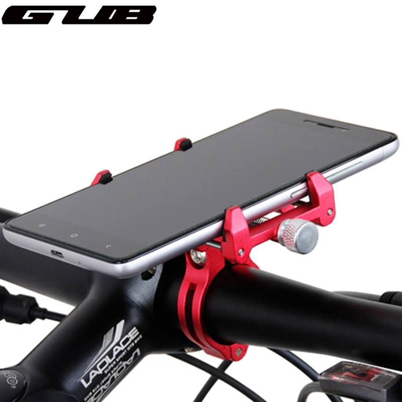 Metal GUB Adjustable Universal Bike Phone Mount Stand For 3.5-6.2inch Smartphone Aluminum Bicycle Handlebar Holder Mount