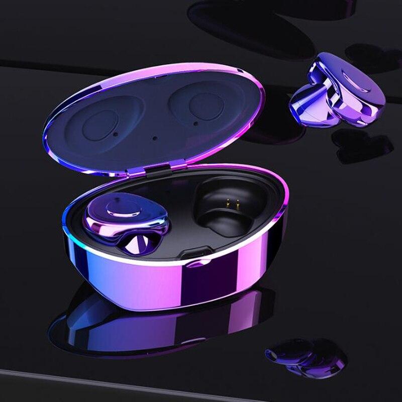 Wireless Bluetooth Earphone Waterproof TWS Headset In Ear Noise Reduction Sports Earbud Portable Earphones With Charging Box