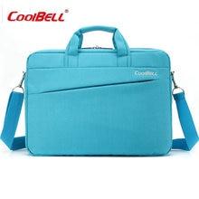 COOLBELL Airbag Skalierbare wasserdichte laptop-tasche 13 zoll von frauen Schulter tragbar Messenger männer notebook-tasche Stoßfest-FF