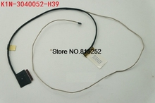 LCD del computer portatile Cavo LVDS Per MSI GT72 GT72S 6QD GT72VR 6RD 1781 1782 MS1781 4 K K1N 3040052 H39/EDP K1N 3040023 H39