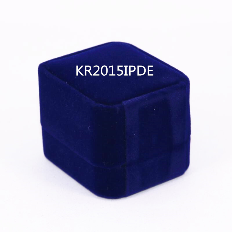 USA Size 7 to 15 Factory Wholesale Price 2015 KR015IPDE Ring Engraving Inside Display Box Drop Shipping
