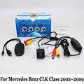 Для Mercedes-Benz CLK Class W209 A209 C209 2002 ~ 2009/Ночь видение Камера Заднего вида/Проводной Или Беспроводной Резервное Копирование Обратный камера
