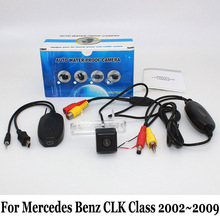 For Mercedes Benz CLK Class W209 A209 C209 2002 2009 Night Vision Rear View Camera Wired
