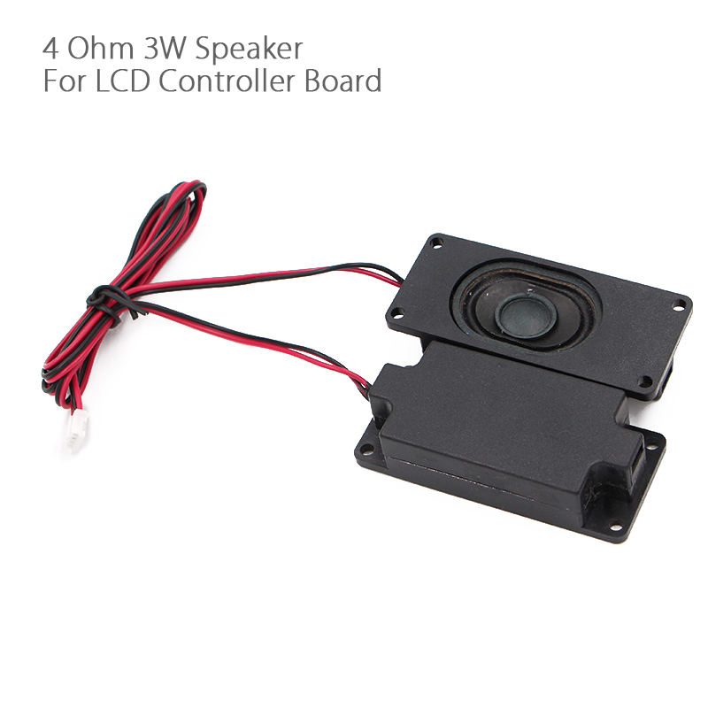 For V59/56/59 3463A SKR.03 4 Ohm 3W LCD Panel Speaker Amplifier audio frequency Output – Black (30mm x 70mm) 1 Pair