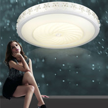 Round Bright Led Ceiling Lights 12W Mordern for Bathroom Kithcen with Three Color Temperatures LED Bulbs