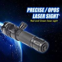 Tactical Green Laser Sight Adjustable Green Laser Designator, Hunting Laser Sight G27