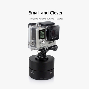 Image 5 - Vamson for GoPro Accessories 60min Panning Rotating Time Lapse Stabilizer 360 Degrees For Gopro Hero 5 4 3+ for Xiaomi VP408