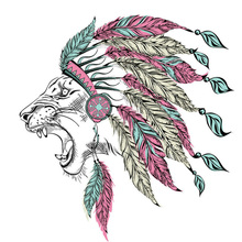 10pcs/lot Colored Lion Patches Iron On Stickers Print T-Shirt Diy Accessory New Design Clothes Decoration Washable Parches