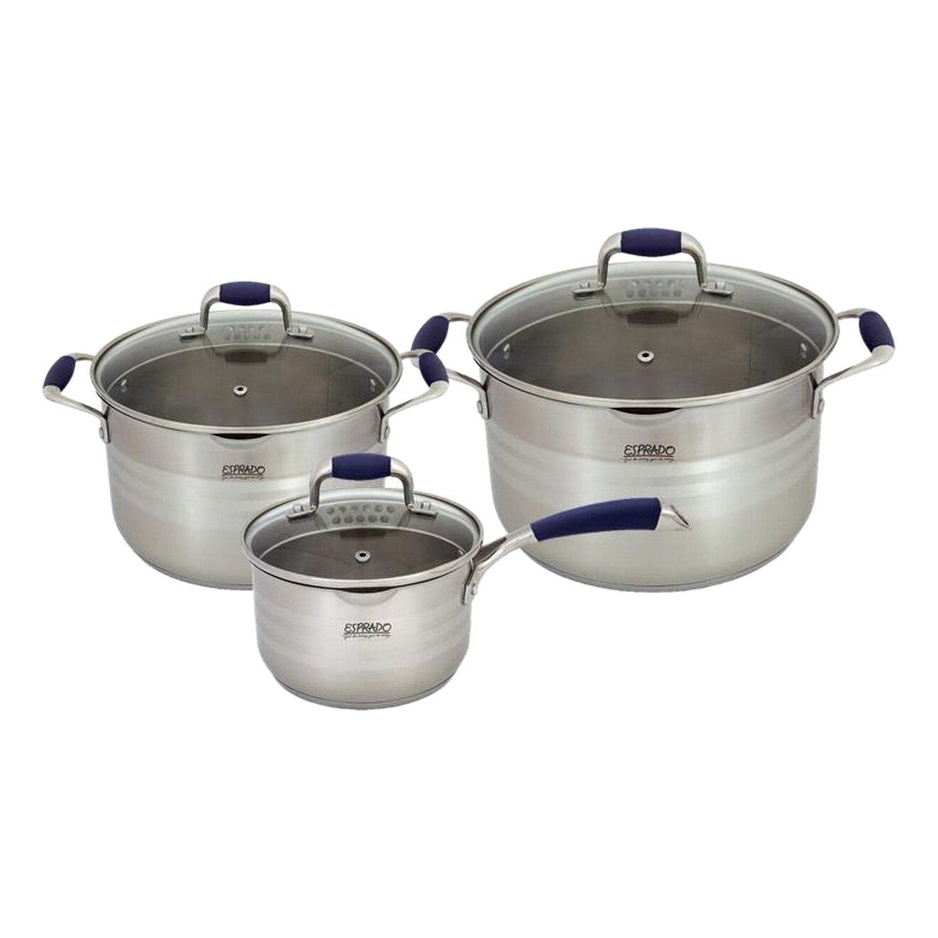 Cookware set Esprado Marina 6 items