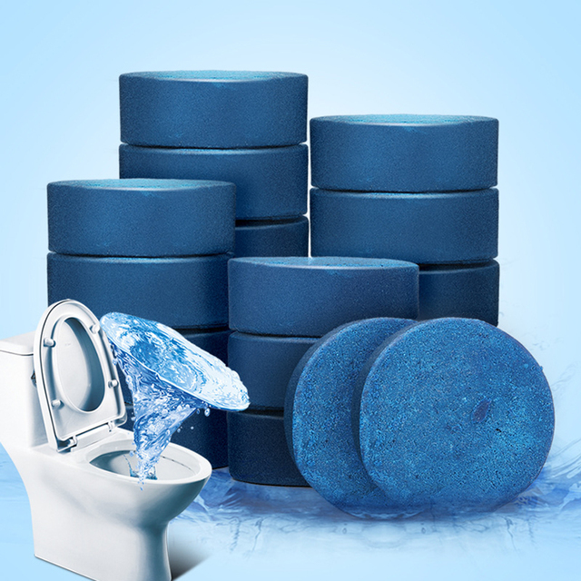Nuovo Arrivo 1 pz Blu/orange bolla Pulito Wc Deodorante Cucina Wc Di trasporto P
