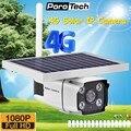 Новейшая ip-камера 4G на солнечных батареях со встроенным аккумулятором  поддержка 4G sim-карты HD 1080 P  беспроводная уличная камера видеонаблюде...
