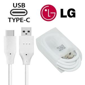 Image 5 - オリジナル LG G5 EU プラグ高速トラベル壁の充電器 + タイプ C Lg ネクサス G5 V30 V20 g6 F800 F700 H860N H990N MCS H05WD