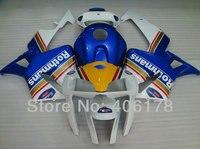 Лидер продаж, 05 06 CBR600RR F5 Полный обтекатели для Honda CBR 600 RR 2005 2006 Race Bike Rothmans мото тела Наборы (литья под давлением)