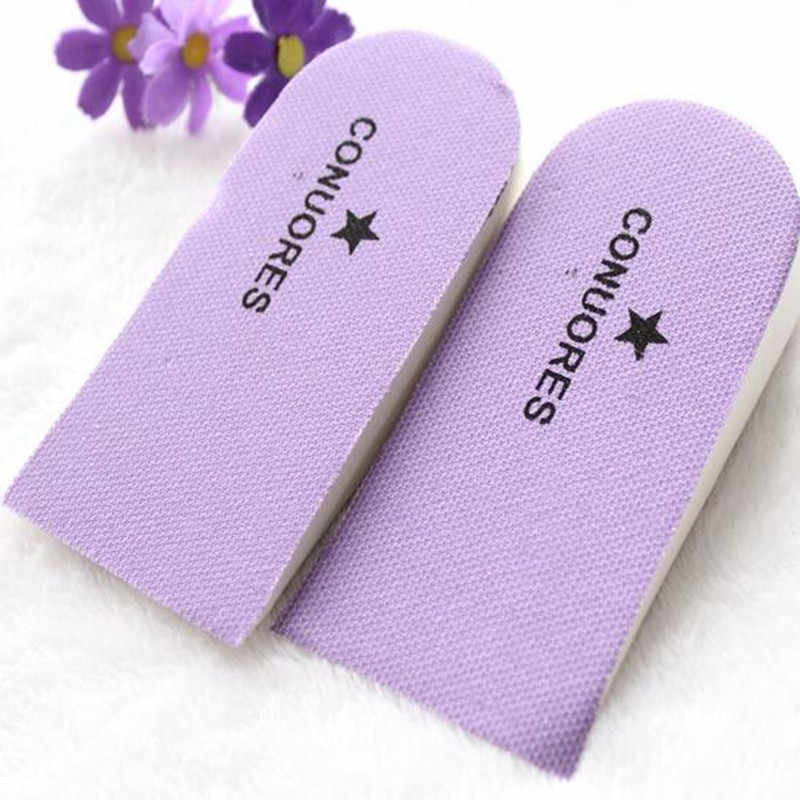 2 Pcs/1 Pair/lot Support Cushion Feet Care Insert Orthopedic Insole for Flat Foot Health Pad Shoe Pads height increase insole