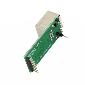 Image 4 - 20PCS USRIOT USR TCP232 T2 Tiny Serial Ethernet Konverter Module Serial UART TTL zu Ethernet TCPIP mit HTTPD Client RJ45 Port