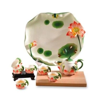 Kung Fu thé ensemble thé plateau théière ensemble de ménage portefeuille