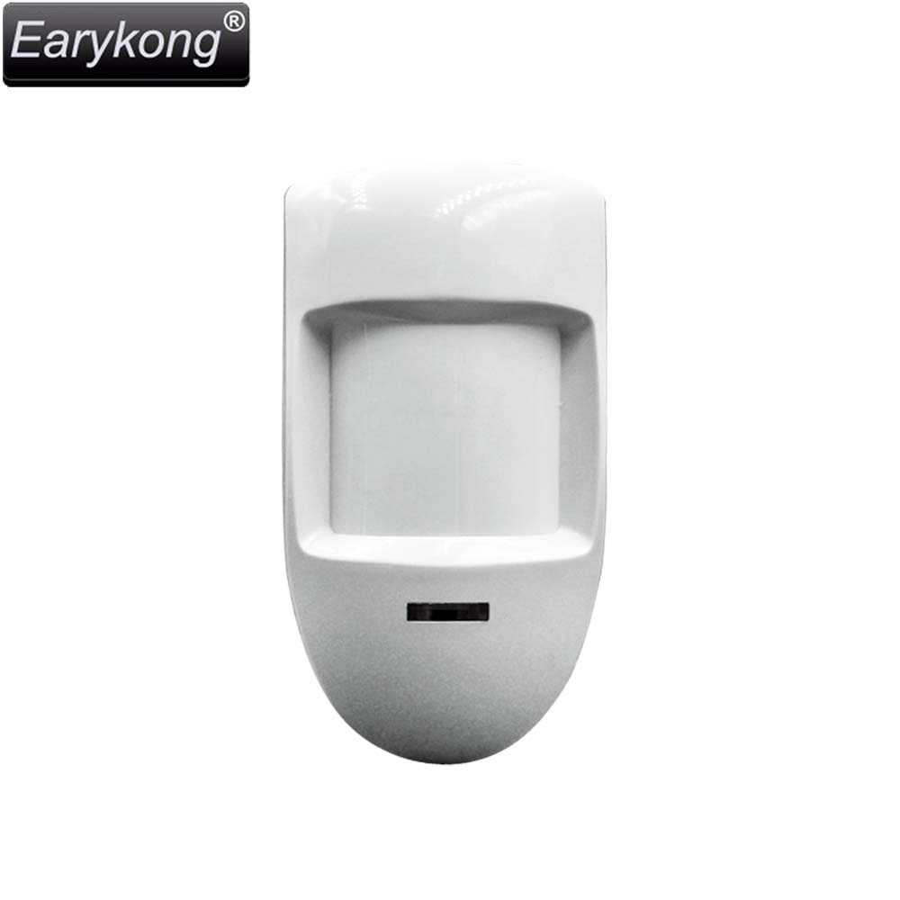 Wired PIR Infrared Motion Sensor Detector,  Wired RFI EMI ESD Lightning Protection PCB easy Lock For Alarm System 5pcs tdk 13mm clip on rfi emi filter ferrite