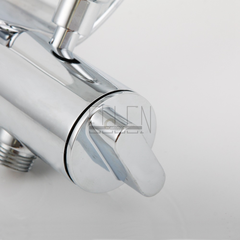 Aliexpress.com : Buy Luxury Wall Mounted Bath Faucet with Led Hand ...