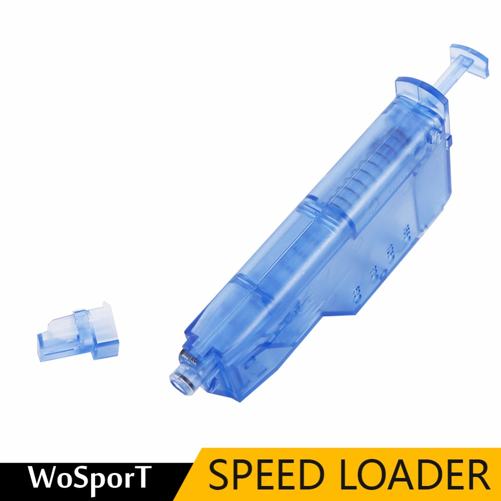WoSporT Airsoft Paintball BB Speed Loader 150rd Rounds Tactical Speedloader Military Quick Loader Paintball Accessories ...