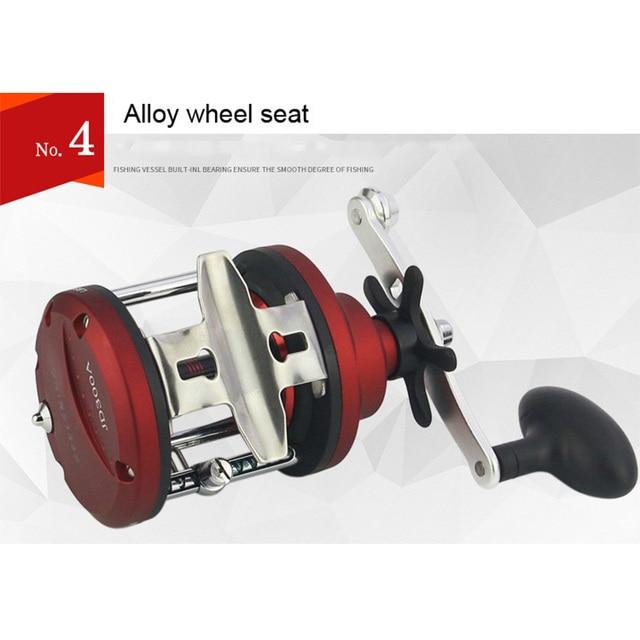 YUYU Casting Fishing reel Bait Reel Trolling Reel Saltwater 3000 5000 Right Sea Fishing Reel Bait Metal spool Coil fishing wheel