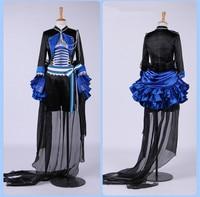 Ciel Phantomhive Cosplay Costume Blue Pattern Black Butler Cosplay Costume