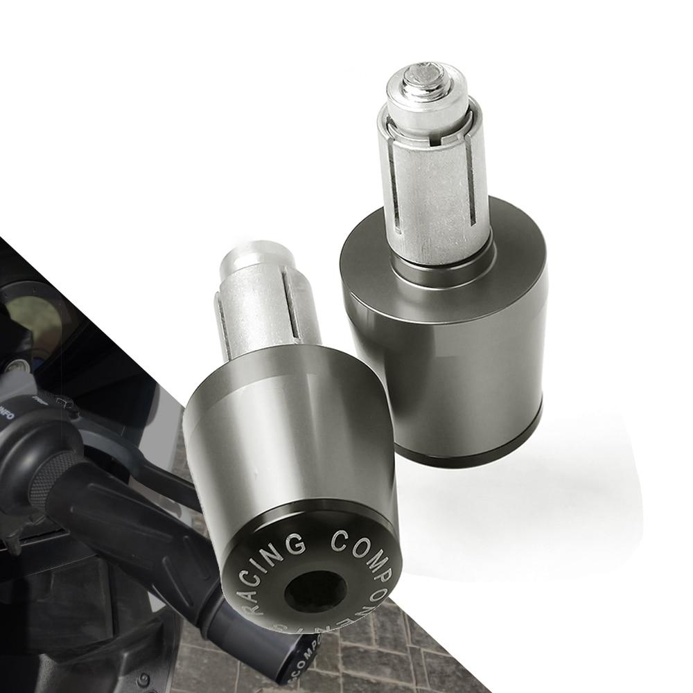 Motorbike Handlebar Cover Grips End Plug Slider Caps For Honda CRF450R 2004 CB1300 X4 SC38 1997 1998 1999 CBR1000F SC24