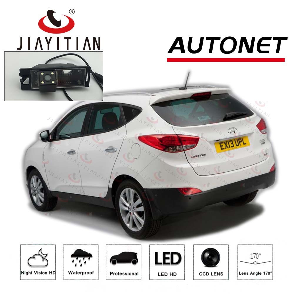 JIAYITIAN Rear View Camera For Hyundai Ix35 2009 2010 2011 2012 2013 2014 2015 HD Night Vision CCD/Reverse Parking Backup Camera