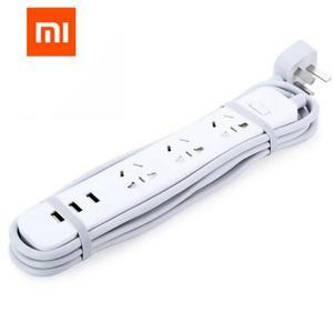 "Image 4 - מקורי שיאו mi כוח רצועת mi חכם בית אלקטרוניקה טעינה 3 USB 2.0 ממשק הארכת שקע תקע/האיחוד האירופי בריטניה ארה""ב AU מתאם"