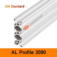 3090 Aluminium Profile EN Standard Brackets DIY Bracket AL Aluminum Extrusion Shape CNC 3D DIY Printer Parts Workbench Line Rail