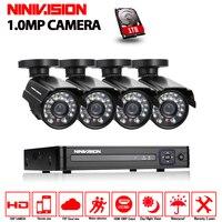 720P HD 2000TVL Intdoor Security Camera System 1080P HDMI CCTV Video Surveillance 8CH DVR Camera Set