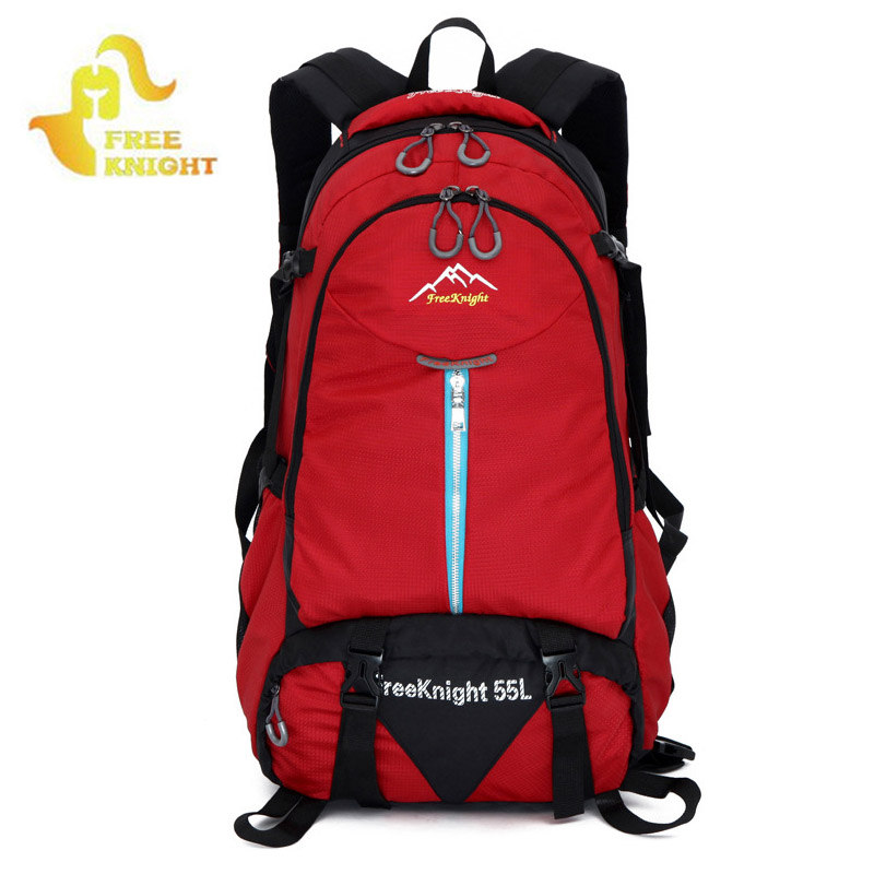 FreeKnight Outdoor Mountain Climbing Backpack Waterproof Camping Travel Bag Large Capacity Sports shoulder Backpacks Hot XA341WD blog flashlight outdoor 5led pocket strong waterproof 8 hours to illuminate mountain climbing camping p004