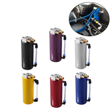 Universal Oil Catch Can 350ML Tank Aluminum alloy Tank Oil Catch Can Car Accessories chrome aluminum double hole 19mm oil catch tank racing oil can catch tank can oil catch tank oil catch can