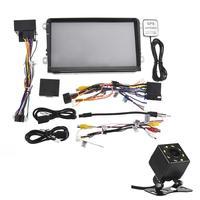 Car Multimedia Player 9 Inch Android WIFI Player GPS Navigator HD Reversing Video Mobile Phone Control Steering Wheel FM Radio