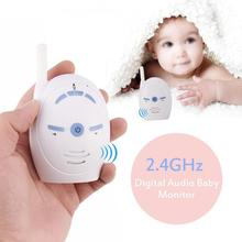 2.4GHz Wireless Infant Baby Portable Digital Audio Monitor Sensitive Transmission Two Way Talk Crystal Clear Cry Voice