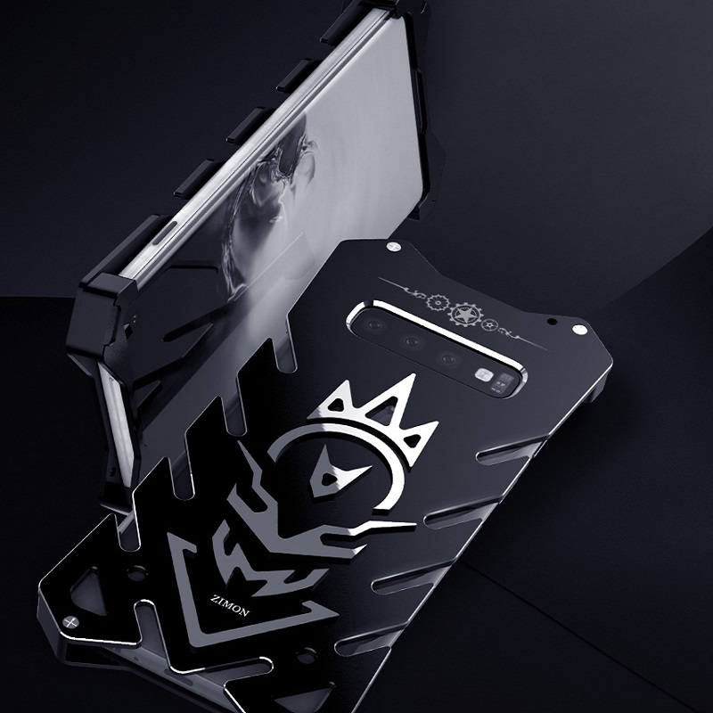 Image 2 - Metal S10 case Zimon Heavy Duty case for Samsung S10 plus fundas phone case for Samsung Galaxy S10E  Powerful Shockproof Luxury-in Fitted Cases from Cellphones & Telecommunications